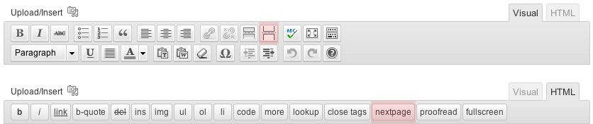 Wordpress HTML Visual Toolbar Editor