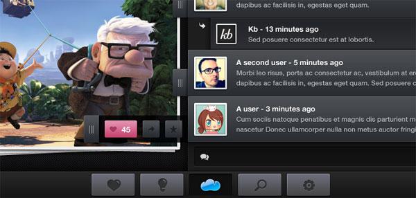 GUI iPad Mockup UI Interface (PSD)