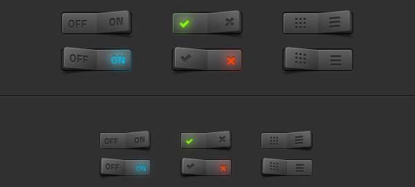PSD UI Interface Mockup GUI (PSD)