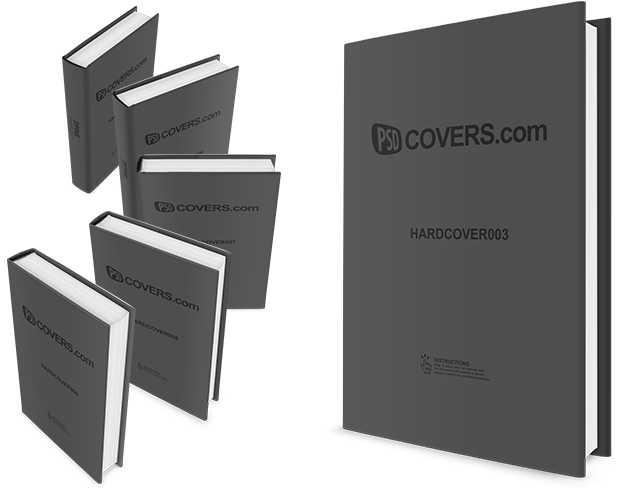 hardcover-mockup-template