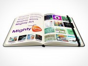PSD Mockup notebook moleskine mighty deals