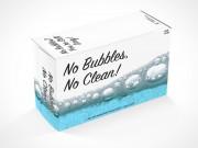 PSD Mockup Soap Box Laying Horizontally