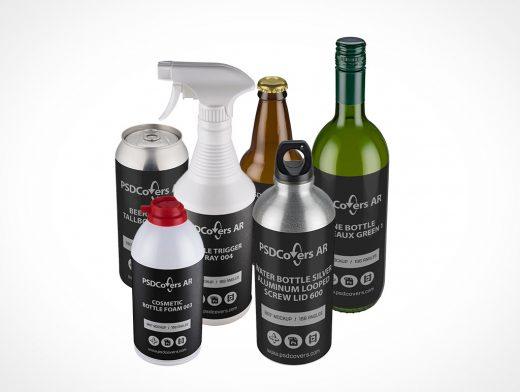Bottle Mockups Sub-Category