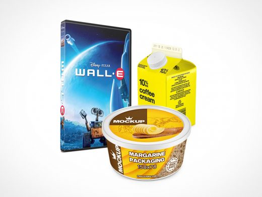 Packaging Mockups Category