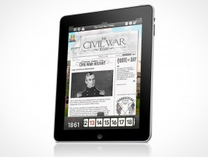 Apple iPad iOS template