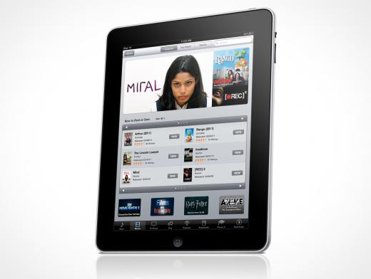 Apple iPad iOS template