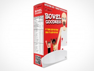 Cereal Software Packaging Box