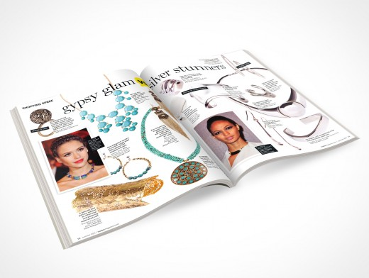 PSD Magazine eBook cover action