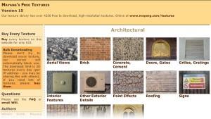 Rock cement wood rust textures