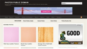 Photos Public Domain Free Textures