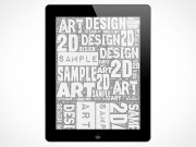 New iPad 2 3 Template Design PSD