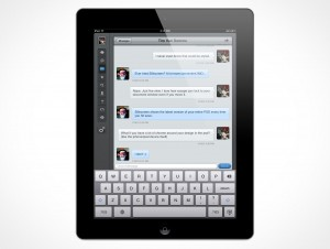 New iPad 2 3 Template Design PSD