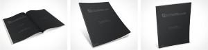 Magazine publication manual PSD template