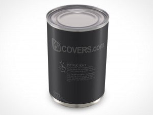 Metal Tin Can Soup 284ml