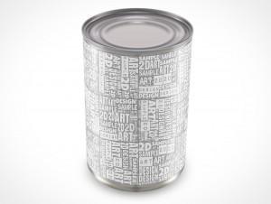 Metal Tin Can Soup 284ml