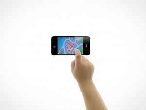 iPhone iPad Toddler Child Hand Gestures