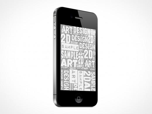 New iPhone 4 4S Portrait Retina Display