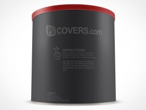 Canister Can Container PSD