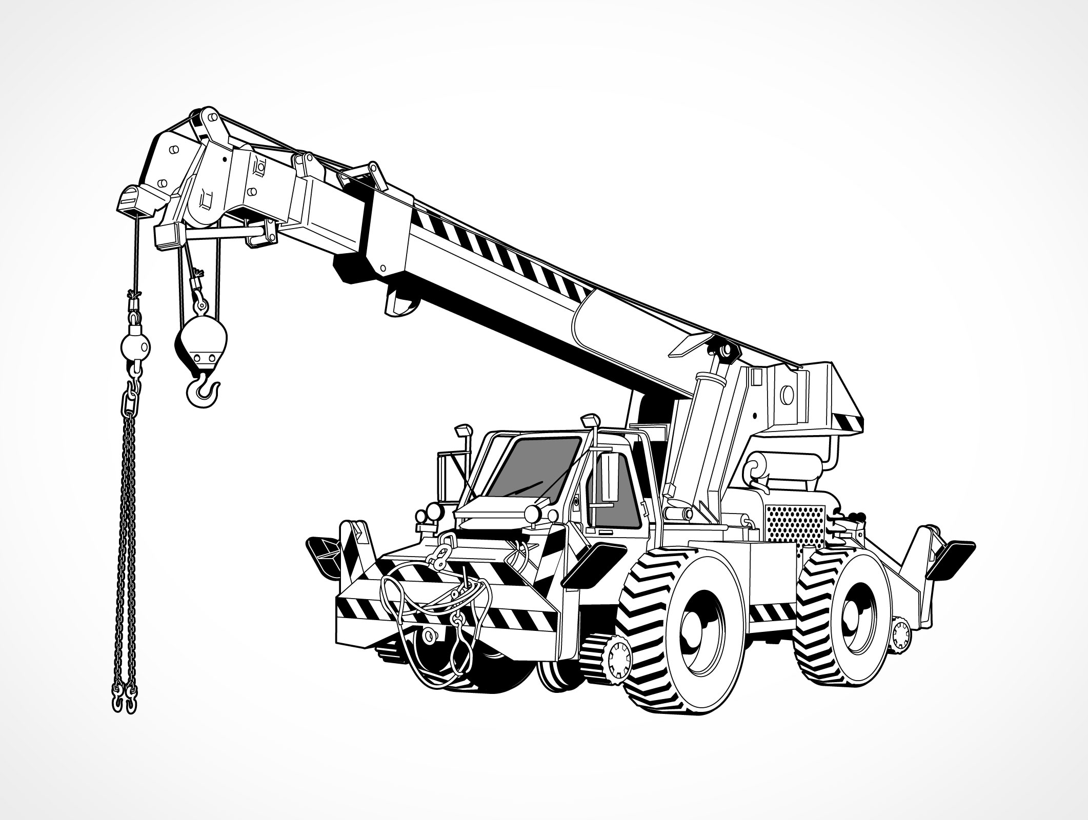 all terrain vehicles coloring pages - photo#38