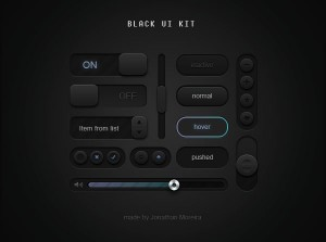 PSD GUI Mockup UI Interface Kit (PSD)