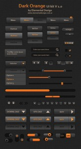 Mockup PSD UI Dark GUI (PSD)