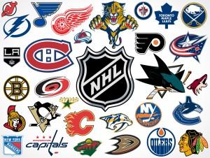 National Hockey League NHL Team Vector Logos EPS SVG PSD