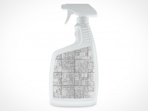 Generic Spray Bottle PSD Cover Action