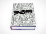 Blank Hardcover Novel Mockup PSD Action