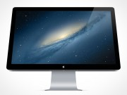 Apple Thunderbolt Mockup PSD Display