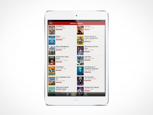 PSD Mockup White iPad Mini