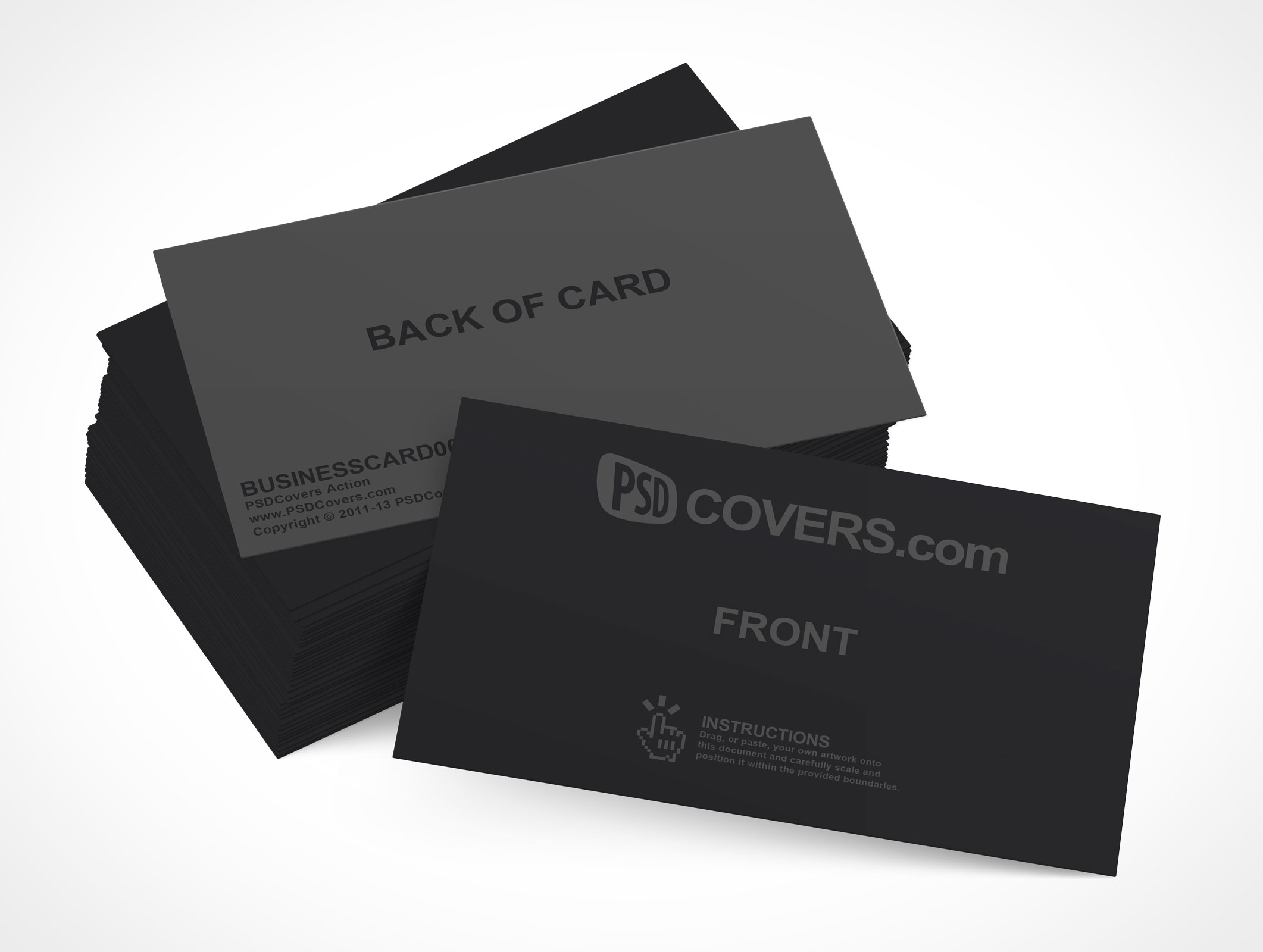 BUSINESSCARD001 • Market Your PSD Mockups for card