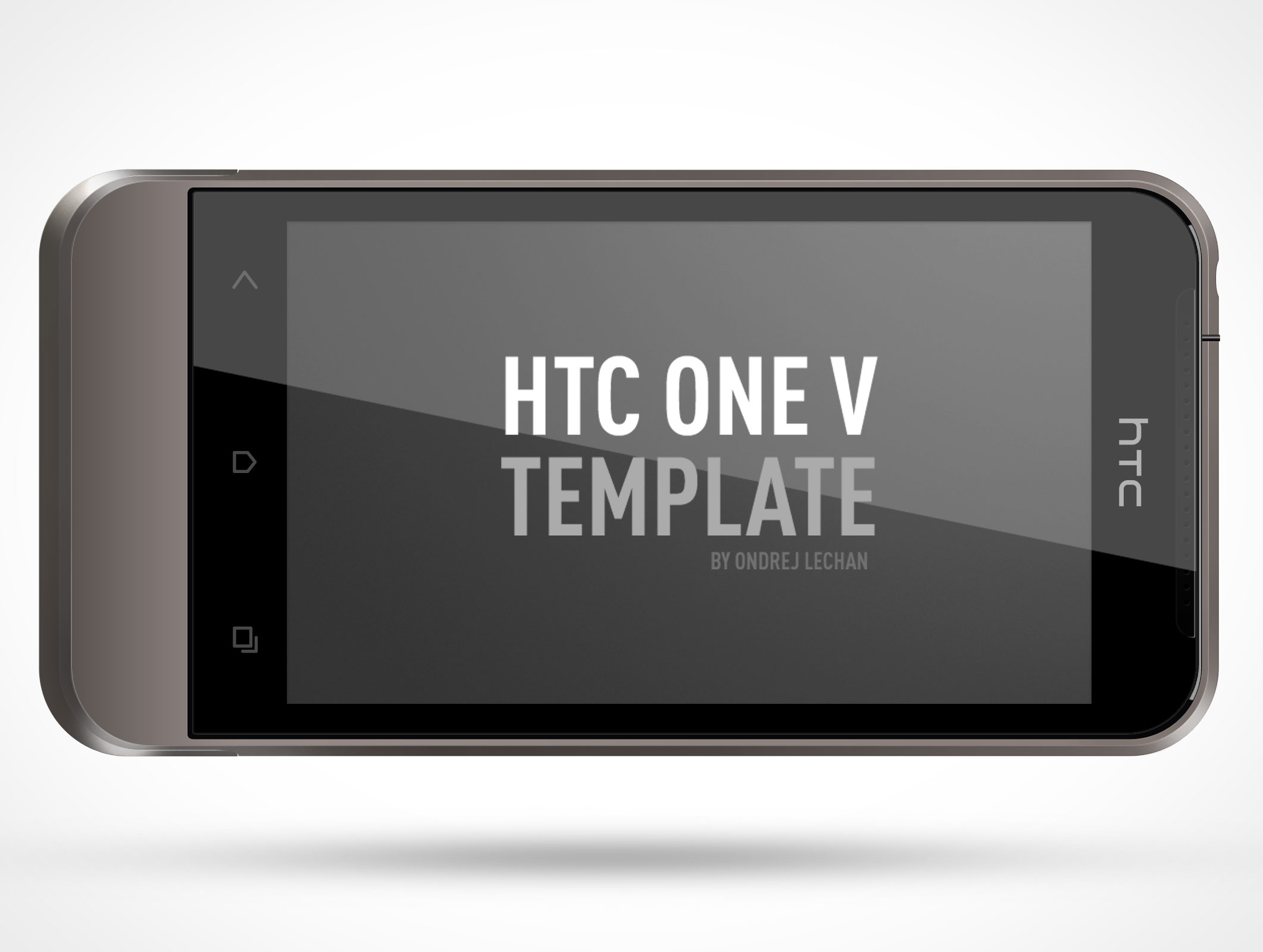 HTC001-One-V-Android-landscape-mode-PSD-Mockup-Template •