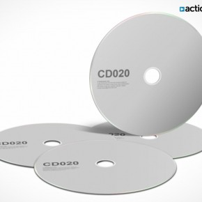PSD Mockup Template ActionUser CD DVD