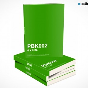 PSD Mockup Template ActionUser Stack eBooks