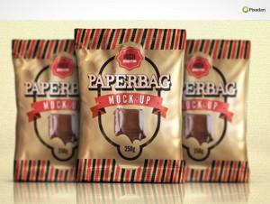 PSD Mockup Template Pixeden Chip Bag