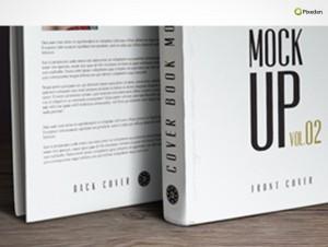 PSD Mockup Template Pixeden Hardcover eBook