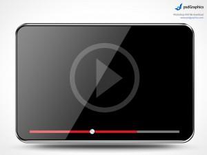 PSD Mockup Template PSDGraphics Media Player