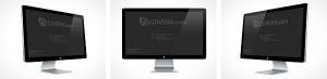 Apple Thunderbolt Retina Display PSD Mockup Cover Action