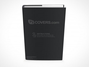 PSD Mockup Hardcover Hardback Book Novel