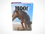PSD Mockup Hardcover Hardback Book Novel