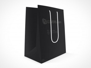 PSD Mock-up Small Trinket Shopping Bag String Handle