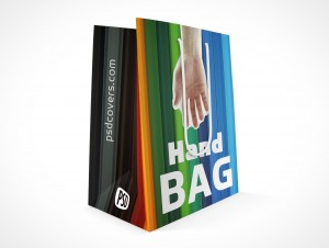 PSD Mock-up Small Trinket Shopping Bag String Handle