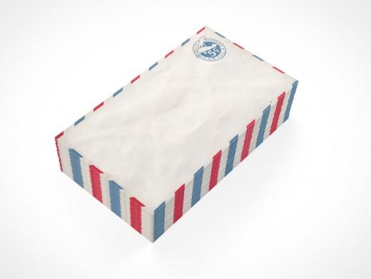 PSD Mock-up standard commercial blank envelope bulk mail