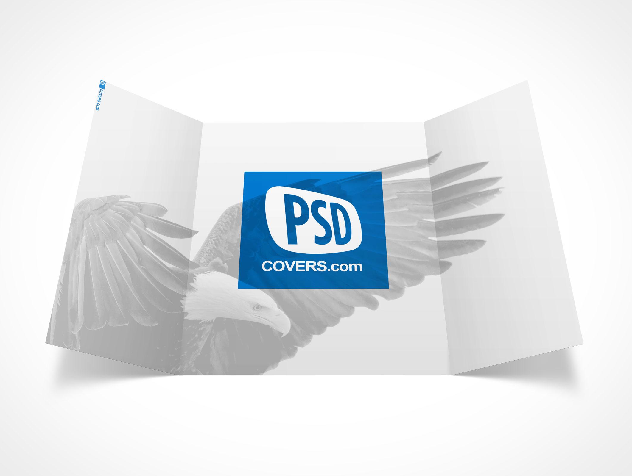 GATEFOLD001 • Market Your PSD Mockups for gatefold