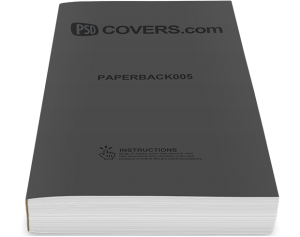 paperback mockup template psdcovers