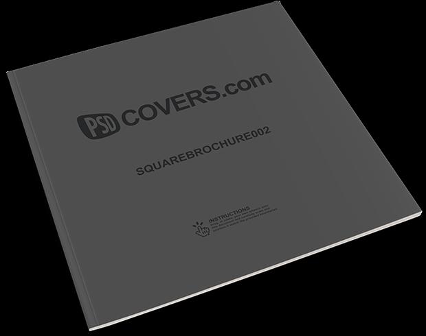 squarebrochure-mockup-template