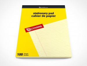 PSD Mockup Office Stationary Staples Notepad Pad