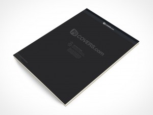 PSD Mockup Office Stationary Sketch Note Pad