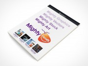 PSD Mockup Office Stationary Mighty Deals Pad