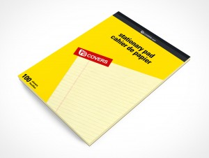 PSD Mockup Office Stationary Staples Notepad Pad